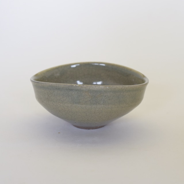 中里花子 貫入小鉢  カラシ