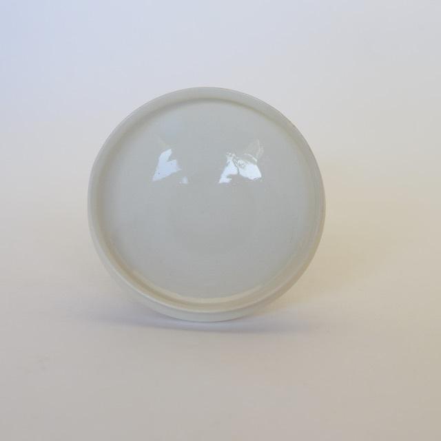 中里花子 ホワイトリム小皿
