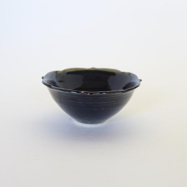中里花子 チャクラ小鉢 ダークブルー口径10.5cm