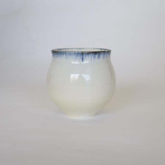 中里花子 ブルー皮鯨ワインカップ【フリーカップ】
