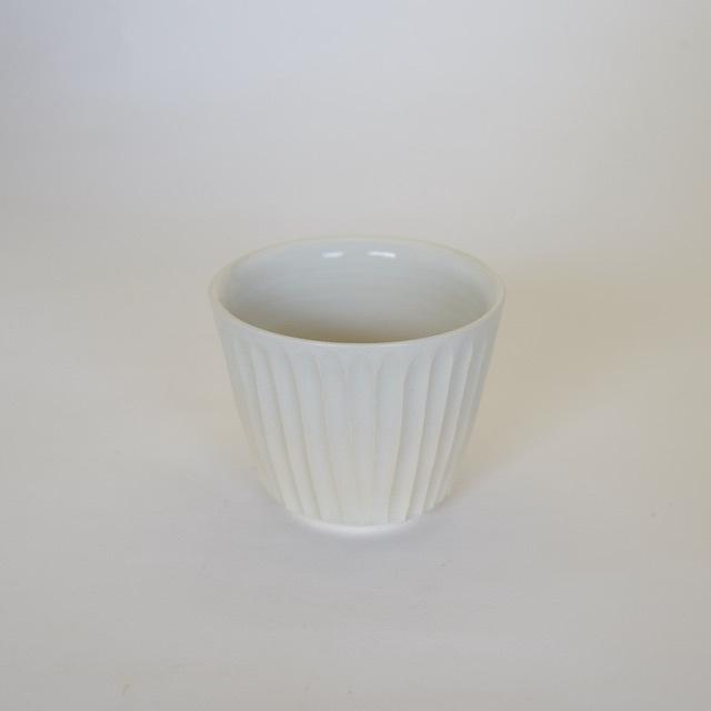 中里花子 ホワイトしのぎフリーカップ