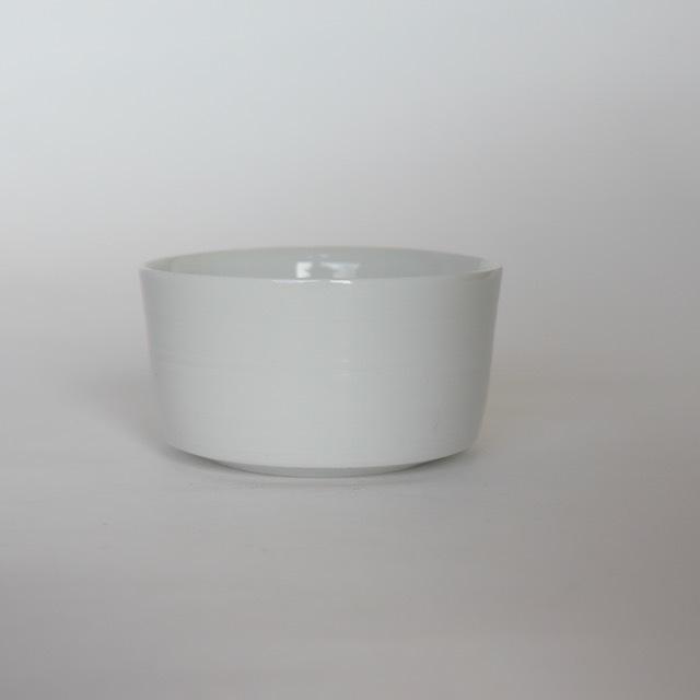 中里花子 白磁ストレートカップ 【小鉢】