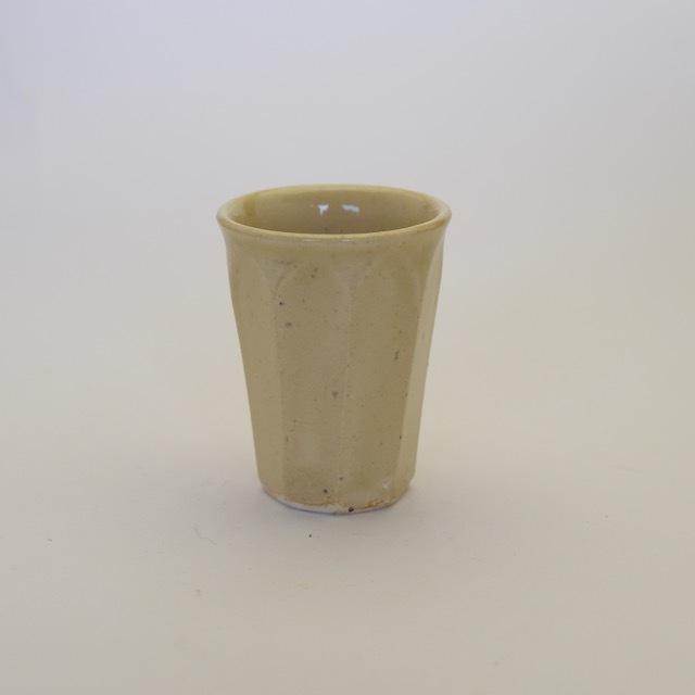 中里花子 カラシ面取ミニカップ