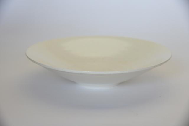 中里花子 マットホワイト sujiパスタ皿