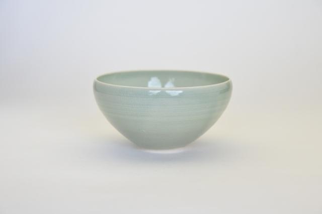 中里花子 緑青磁飯碗【ボウル】【ご飯茶わん】
