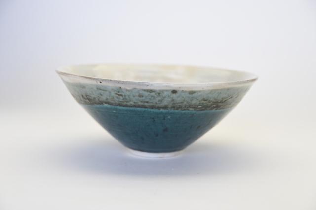 中里花子 緑釉鉢