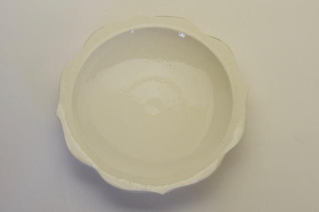 中里花子 ホワイトチャクラ皿【ケーキ皿】【取り皿】