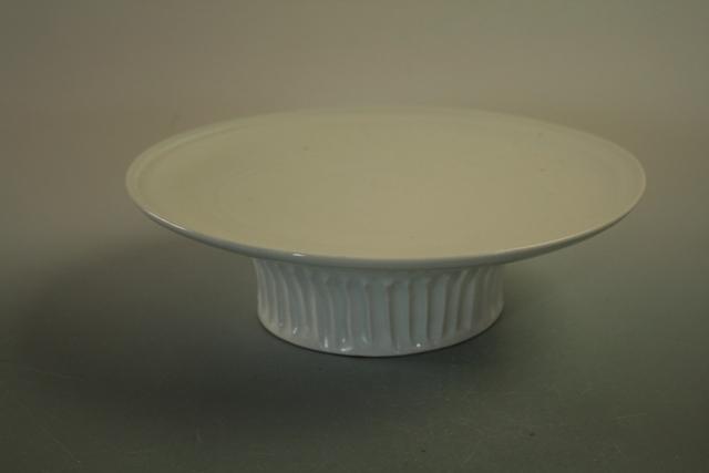 中里隆 アリゾナ 白磁台鉢【送料無料】