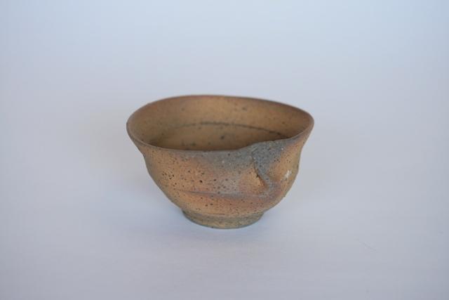 井銅心平 焼締め蛤小鉢