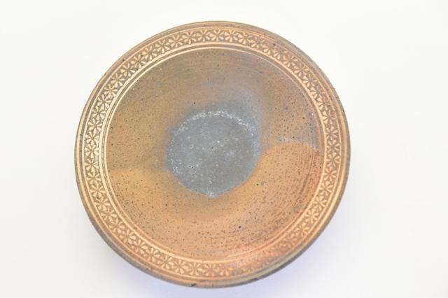 井銅心平 南蛮象嵌皿C