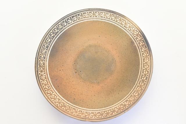 井銅心平 南蛮象嵌皿D