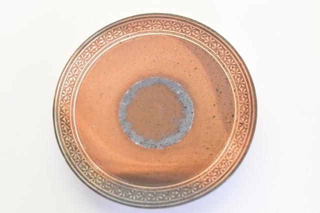 井銅心平 南蛮象嵌皿 F
