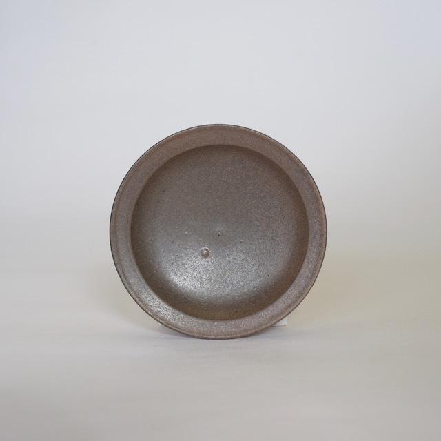 大庭一仁 アンティークグリーン 豆皿a
