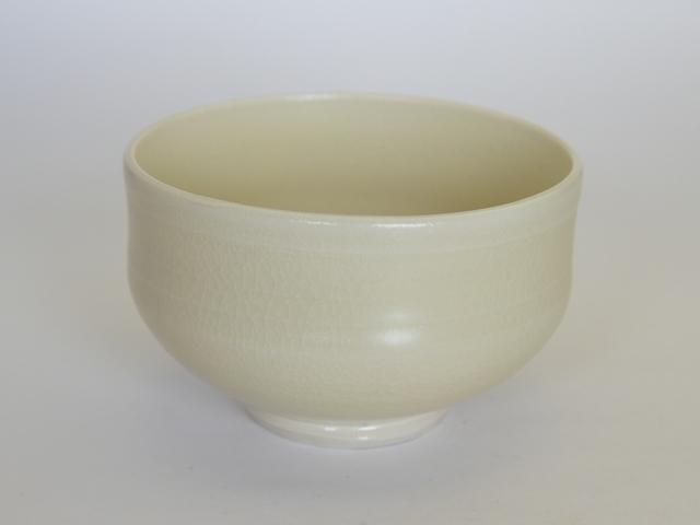 大庭一仁  黄白磁茶碗