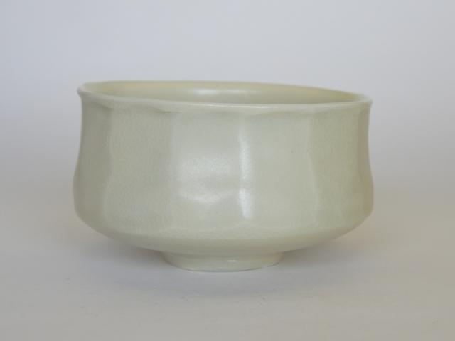 大庭一仁  黄白磁面取茶碗