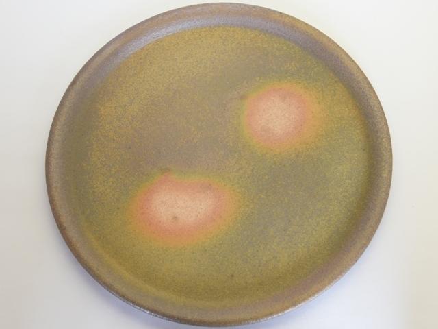 大庭一仁 テラシッジ焼き締め平皿