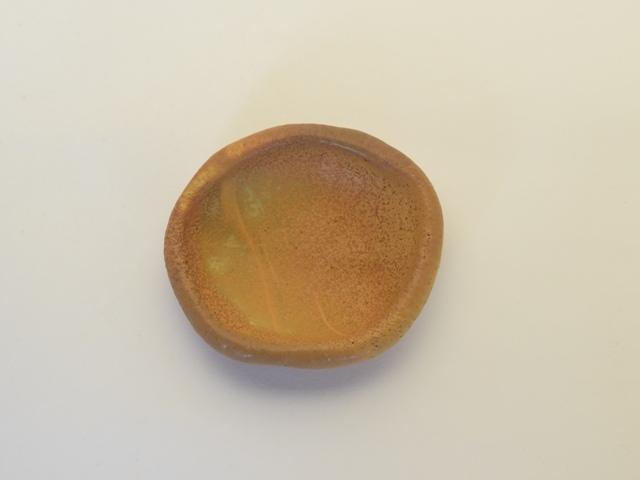 大庭一仁 タッフィー釉 豆皿 C