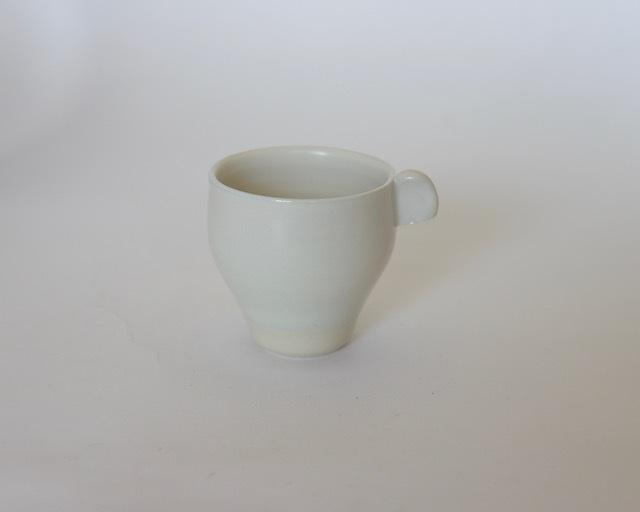 大庭一仁 リーチホワイトコーヒーカップ A