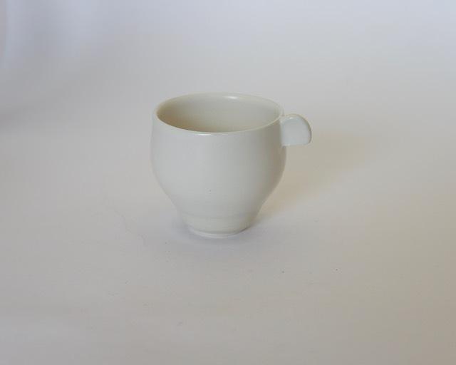大庭一仁 リーチホワイトコーヒーカップB