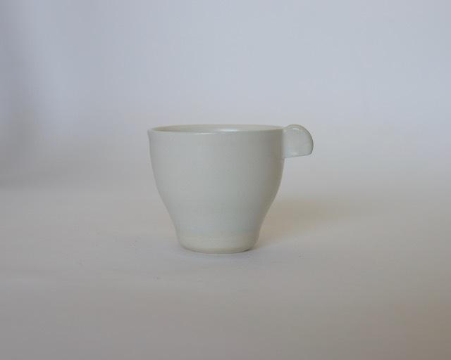 大庭一仁 リーチホワイトコーヒーカップC