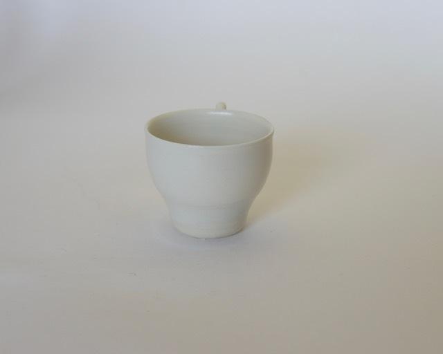 大庭一仁 リーチホワイトコーヒーカップF