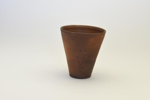 野口悦士 種子島焼しめビアカップ