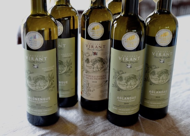Chateau Virant フランス産 高級オリーブオイル シャトーヴィラン・エクストラ・バージンオリーブオイル6本x500ml 【送料無料】【お買い得】