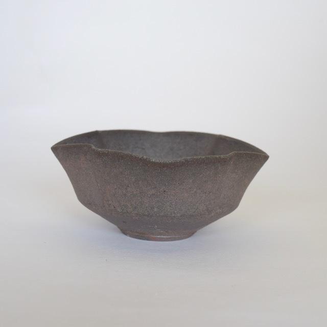 中里隆 アリゾナ 焼き〆松皮菱向附 【茶道具】【唐津焼き】