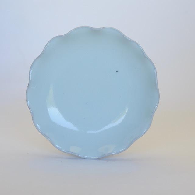中里隆 アンダーソンランチ 白磁輪花皿