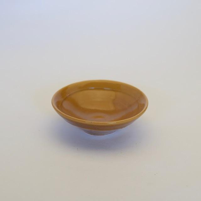 中里隆 黄唐津小皿 【唐津焼き】【醤油皿】