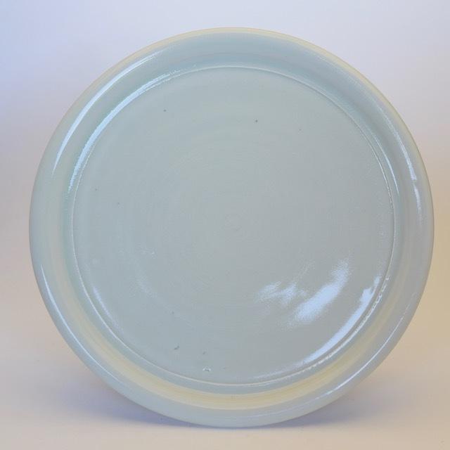 中里隆 アンダーソンランチ白釉平皿【送料無料】