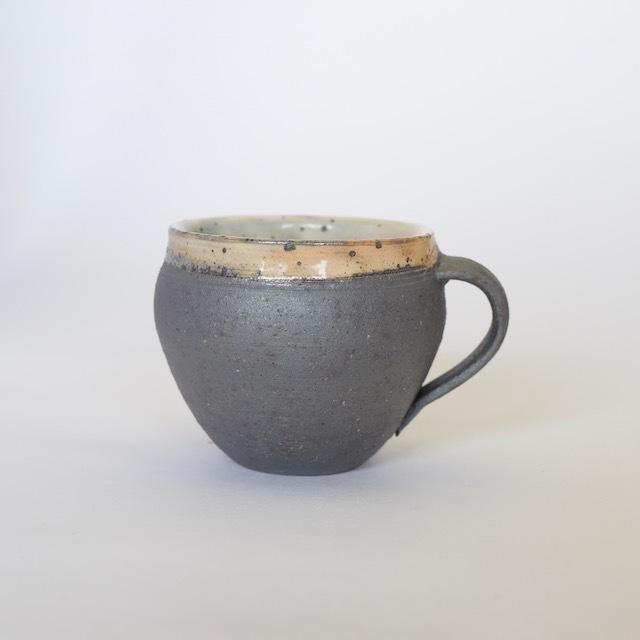中里隆 焼しめマグカップ
