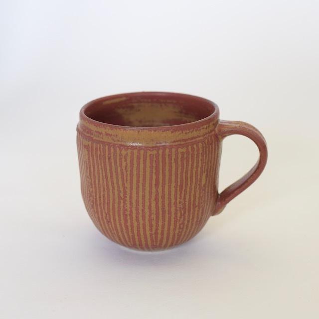 中里隆 アイアンレッドマグカップ