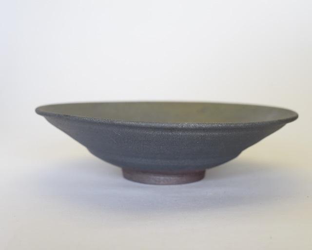 中里隆 アンダーソンランチ 黒釉鉢【中鉢】【送料無料】
