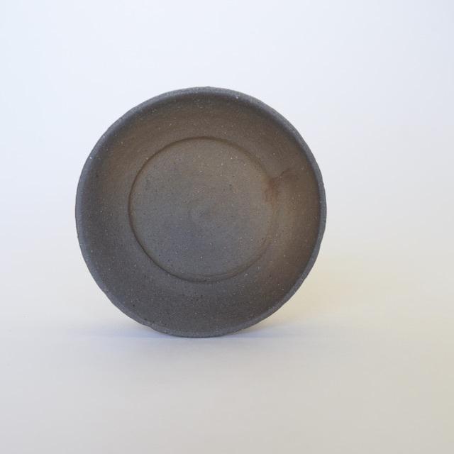 中里隆 花の木焼き〆小皿