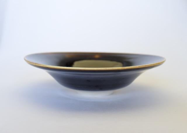 中里隆 アリゾナ  鉄釉鉢【中鉢】【送料無料】