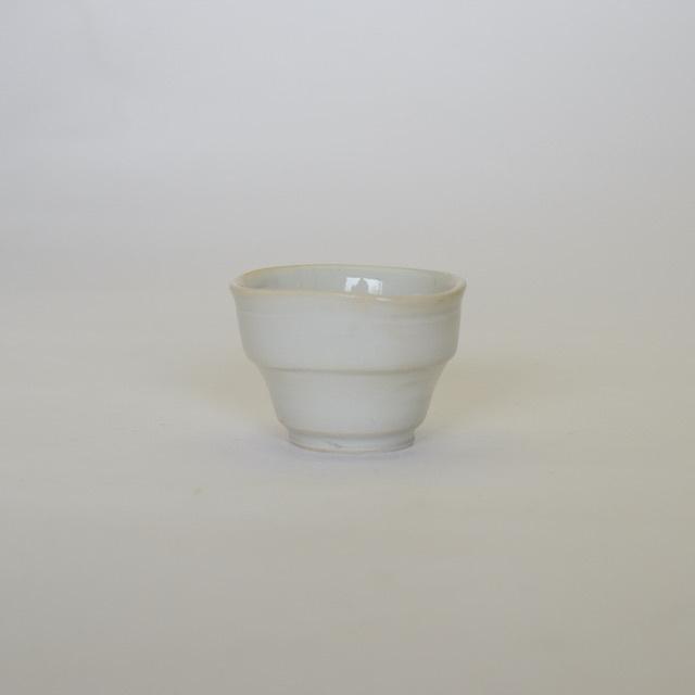 中里隆  白釉茶杯