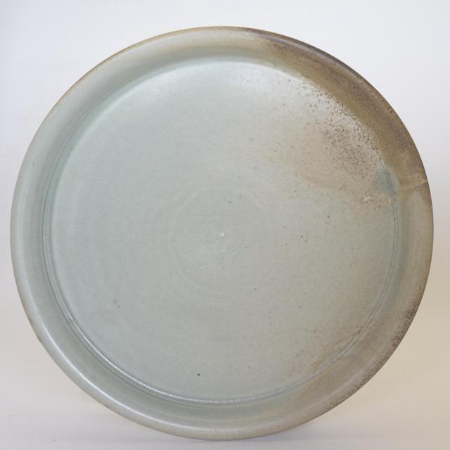 中里隆 アンダーソンランチ・灰釉平皿