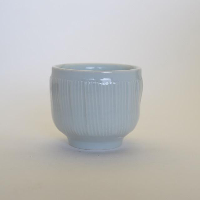 中里隆 アンダーソンランチ青白磁線文湯呑