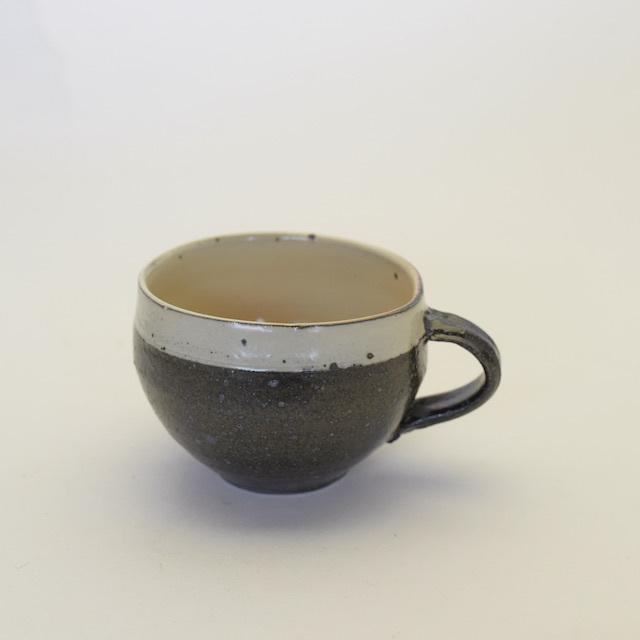 中里隆 粉引マグカップ