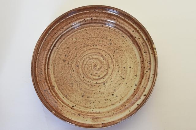 中里隆 アンダーソンランチ バターホワイト平皿【丸皿】【送料無料】