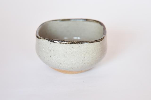 中里隆 唐津皮鯨四方小鉢 【茶道具】【向付】