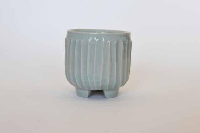 中里隆 アンダーソンランチ 青白磁しのぎ文香炉
