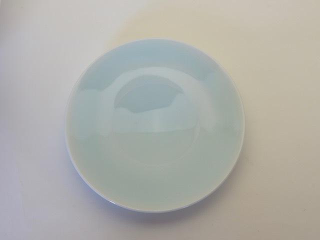 中里隆 ドイツ モルジンゲン青白磁平皿