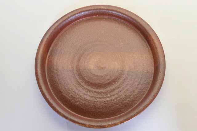 中里隆 アンダーソンランチ ダック志野釉皿 【丸皿】【送料無料】