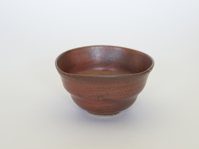 中里隆 アンダーソンランチ・アイアンレッド四方小鉢