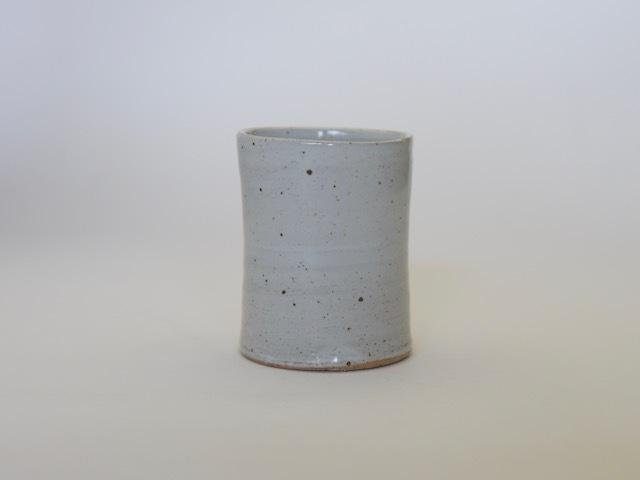 中里隆 アンダーソンランチ 白釉筒湯呑 【フリーカップ】