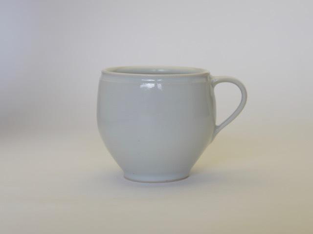 中里隆 アンダーソンランチ 白磁マグカップ