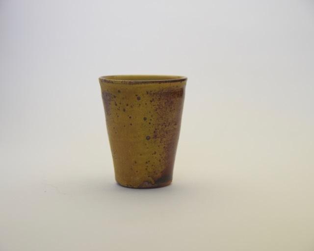 中里隆 アンダーソンランチ アセロ釉カップ【ビアカップ】【フリーカップ】