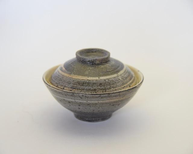 中里隆 唐津刷毛目飯碗と小皿【ご飯茶わん】